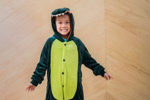 Child in Dragon Costume