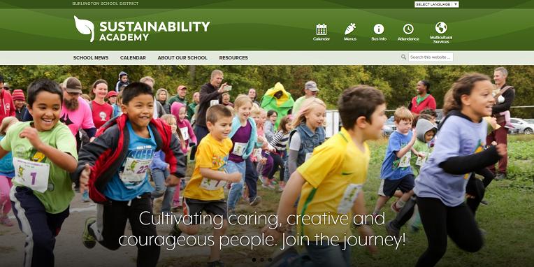 New Sustainability Website