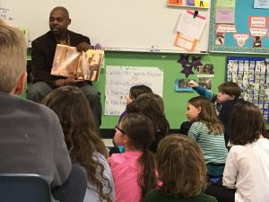 Superintendent Obeng Reads to First Graders