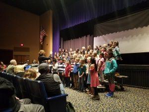 3 Elementary Schools Singing