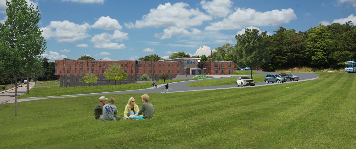 BHS Conceptual Rendering
