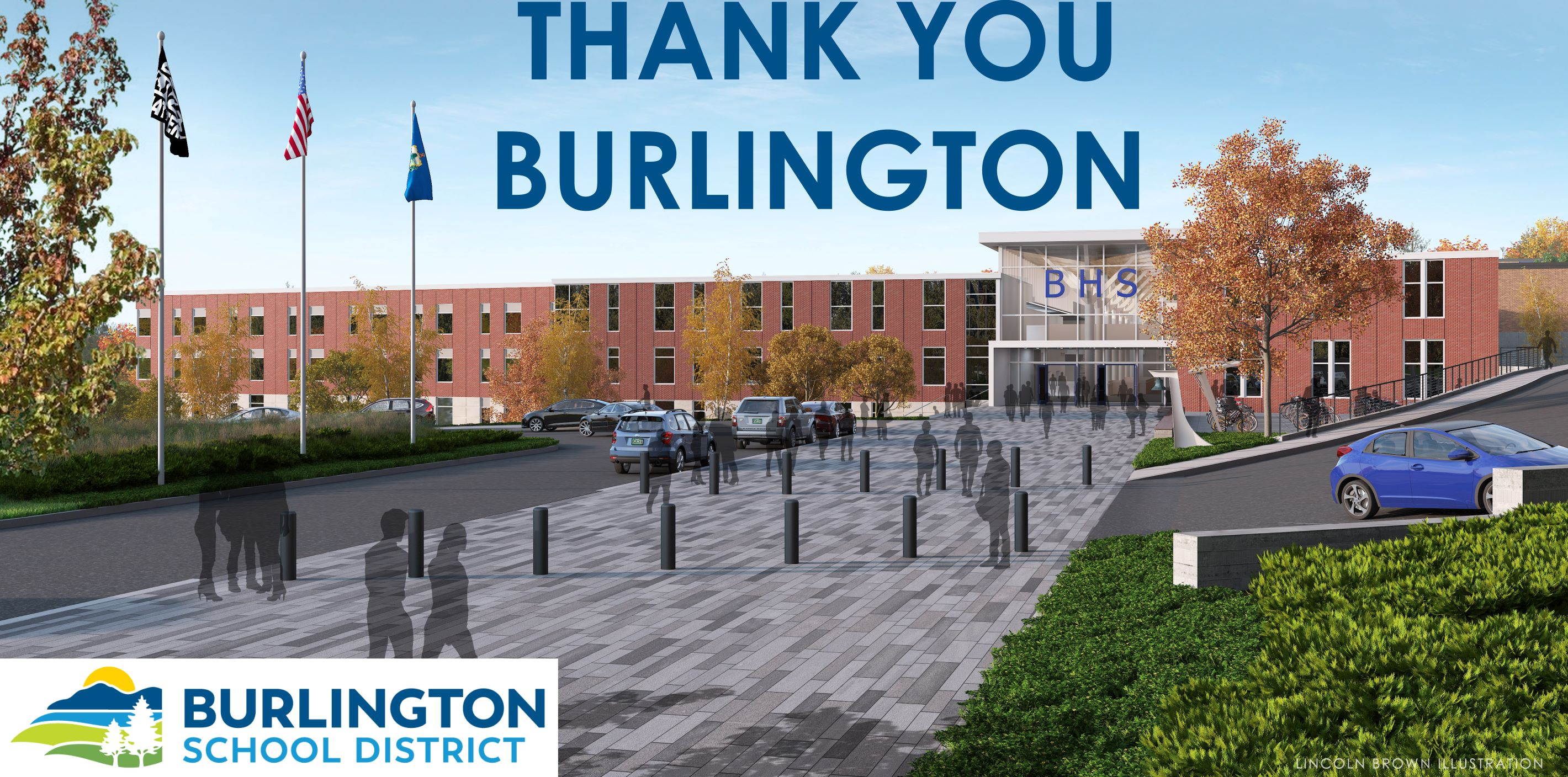 Thank you Burlington voters!