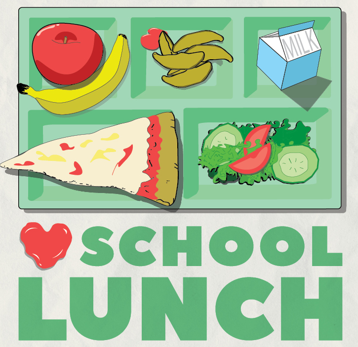 Love School Lunch Square