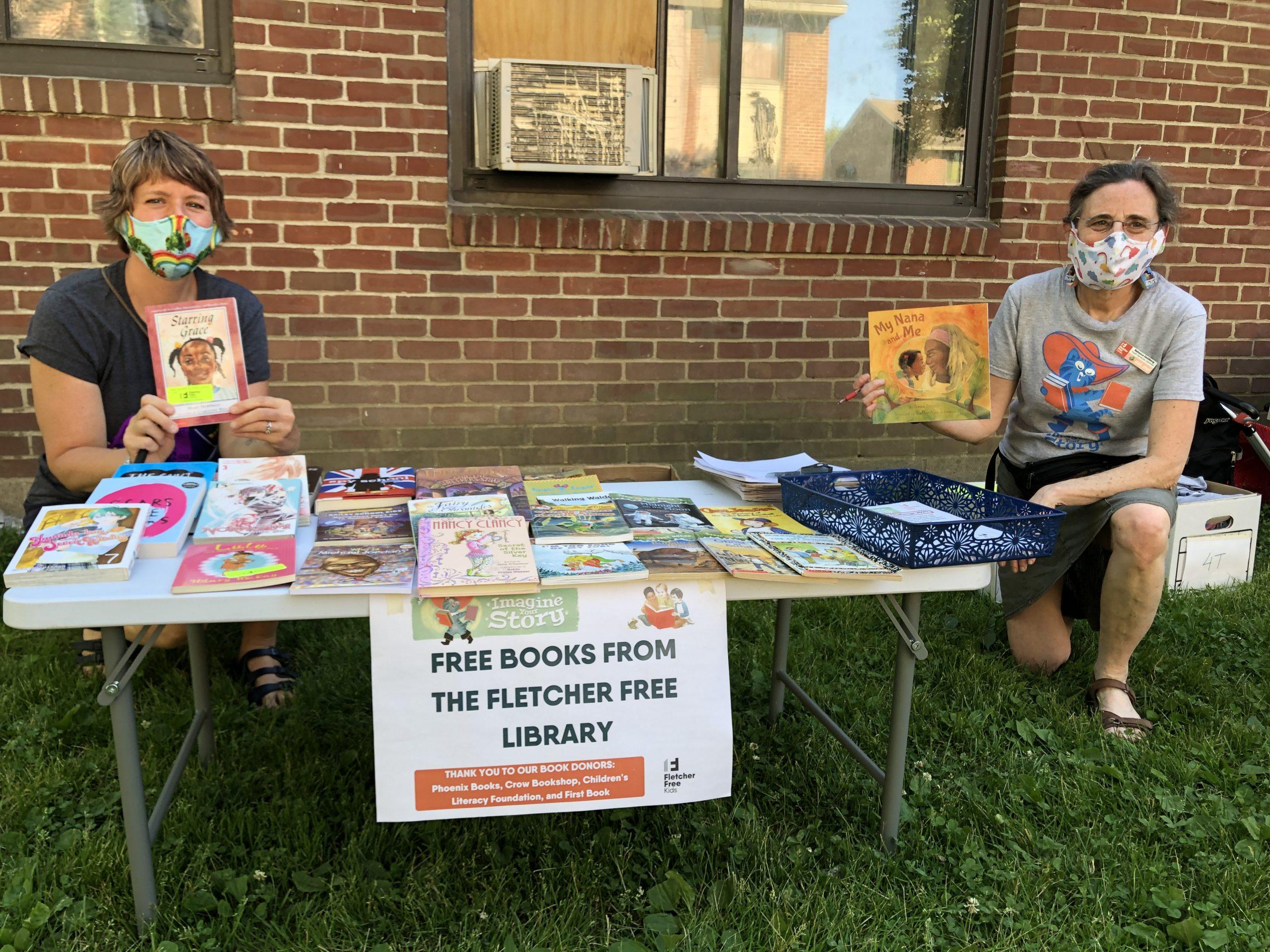 Fletcher Free Library Book Pickup