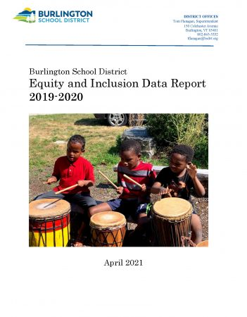 2019-2020 Equity Report Cover Page